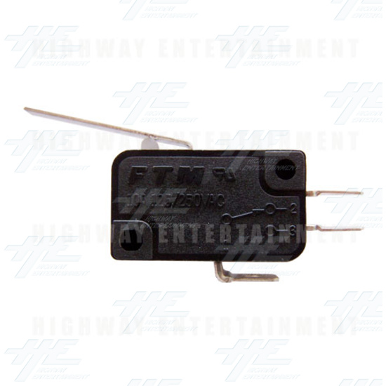 Microswitch with Blade - Front View