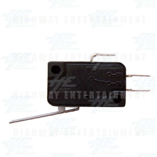 Microswitch with Blade - Back View
