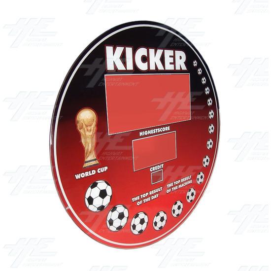 Kicker Display Glass - Angle View