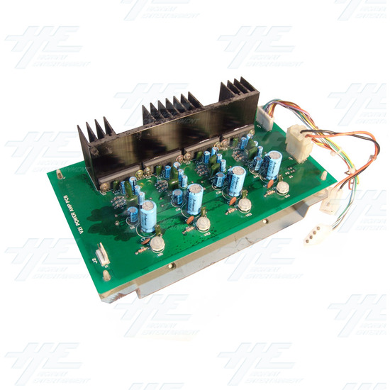 12 V Power Amp PCB - Angle View