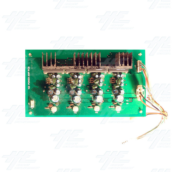 12 V Power Amp PCB - Top View