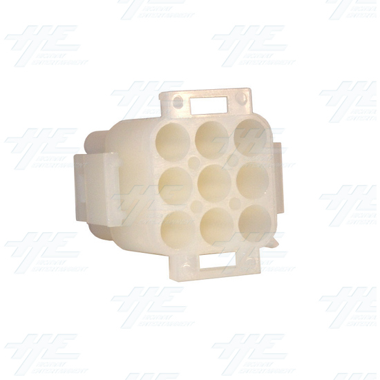TYCO ELECTRONICS / AMP 9 Way Plug Housing - 350720-4 -