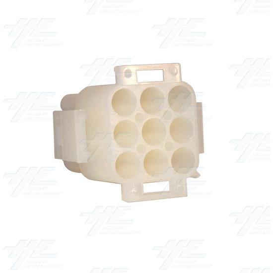 TYCO ELECTRONICS / AMP 9 Way Plug Housing - 350720-4 -