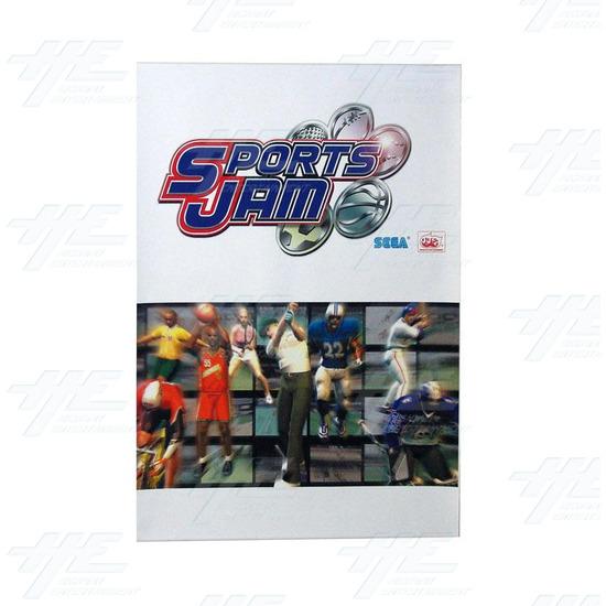 Sports Jam Sticker Kit -