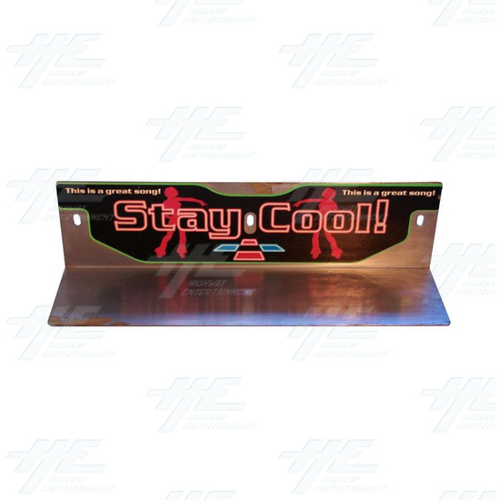 Stay Cool DDR Metal Header -