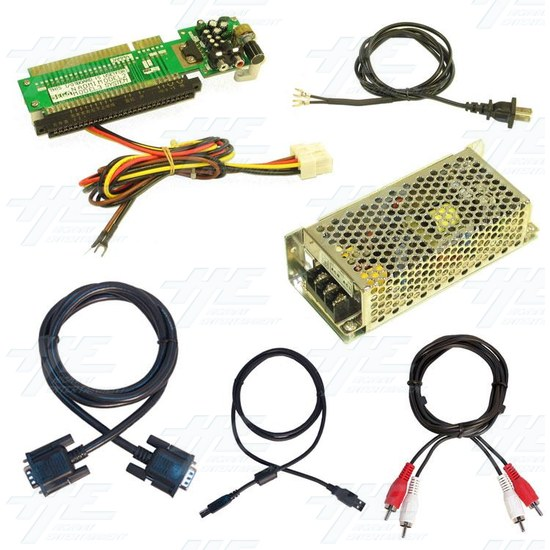 Naomi Power Supply 3.3volt with Complete Wiring - Full Kit