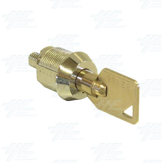 Cam Door Lock 15mm - Without Latch - Full View