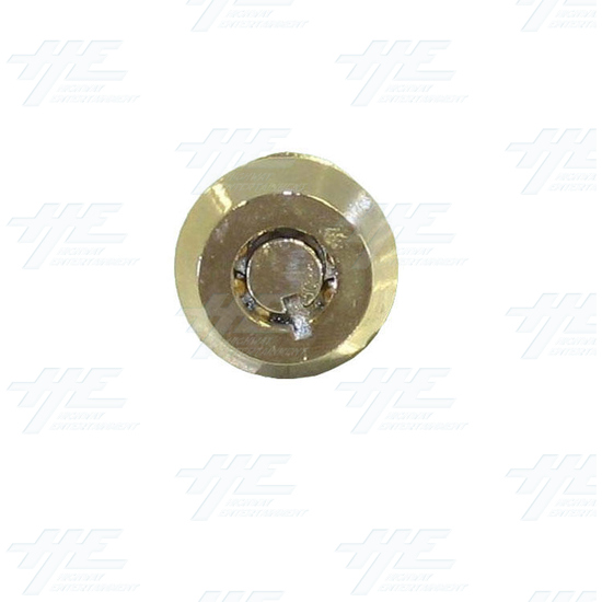 Cam Door Lock 15mm - Without Latch (Made in Taiwan) - Front View