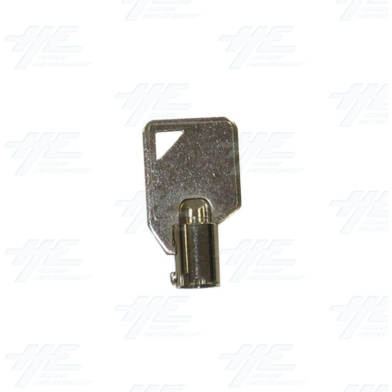 Cam Door Lock 15mm - Without Latch - Key