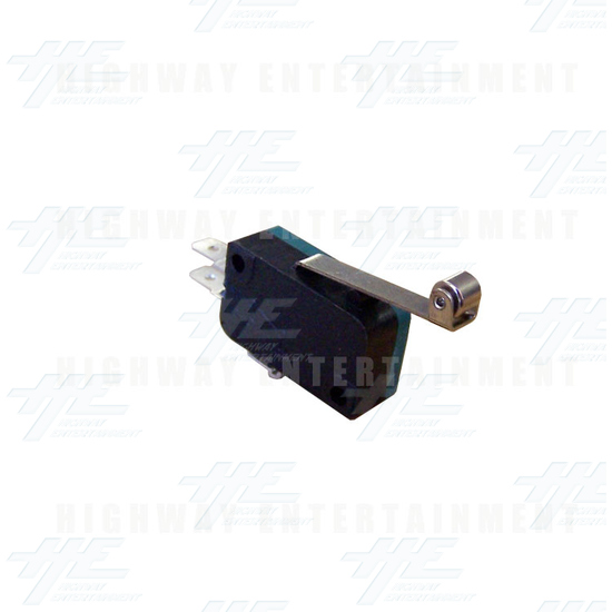 Microswitch with Roller Blade - Angle View
