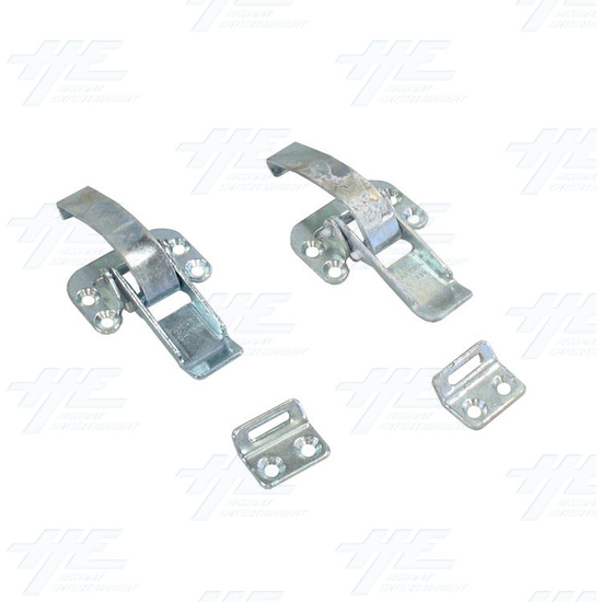 Pinball Back Latches (C- 137) - Used - Front View