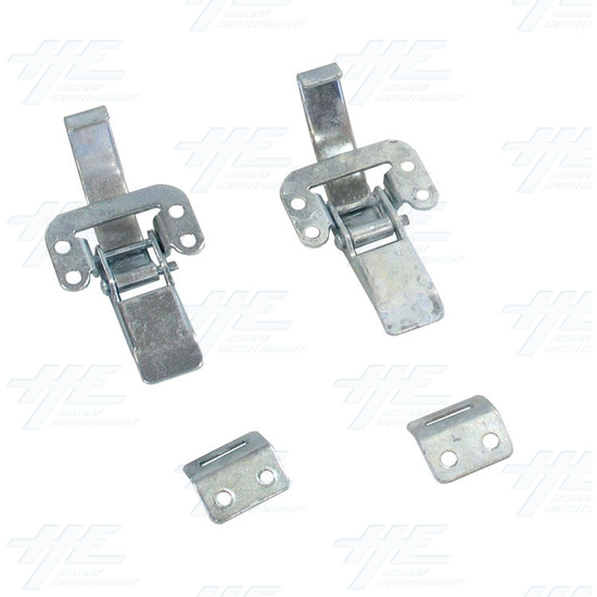 Pinball Back Latches (C- 137) - Used - Back View