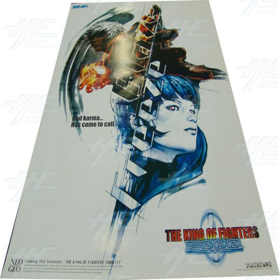 The King of Fighters 2000 Poster - Screenshot