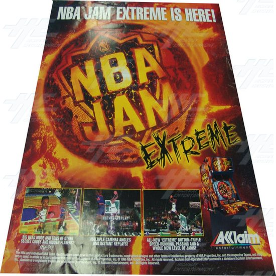 NBA Jam Extreme Poster - Screenshot
