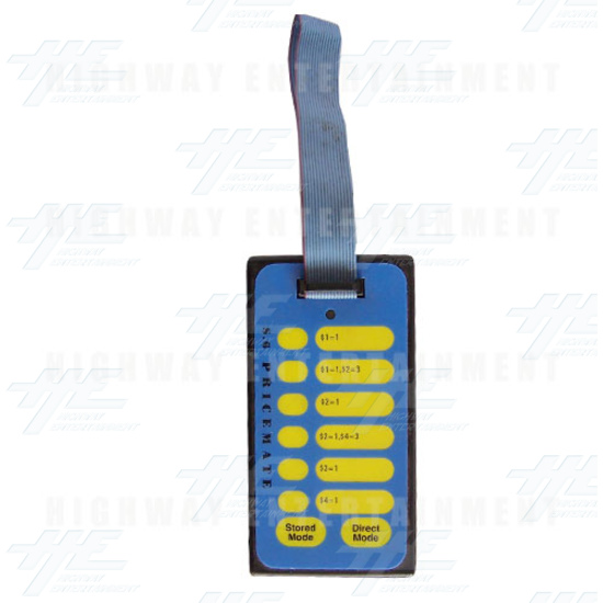 Pricemate S6 Electronic Coin Mechanism Programmer - Handheld - Full View