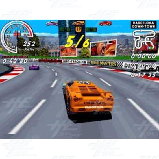 Speed Up Arcade PCB  - Screenshot