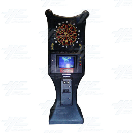 Arachnid Galaxy 11 Electronic Dart Machine - Front View