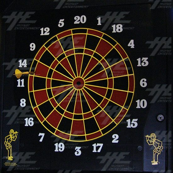 Arachnid Galaxy 11 Electronic Dart Machine - Dartboard