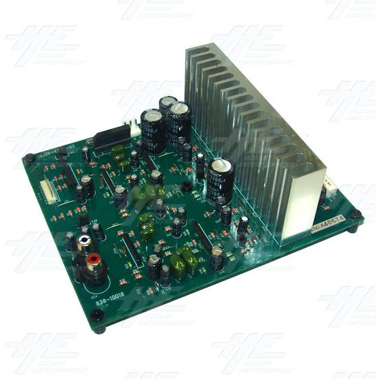 Sega Model 1 Amplifier Board (838-10018) - Full View