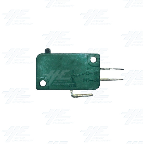3 Terminals Button Actuator Micro Switch - Side View