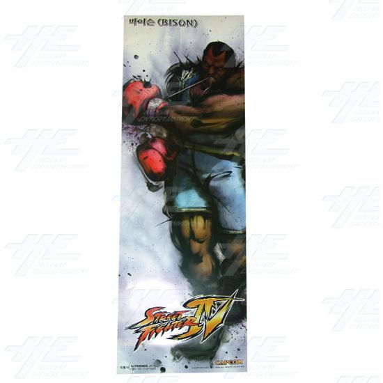 Street Fighter 4 Poster - Set of 10 - Bison