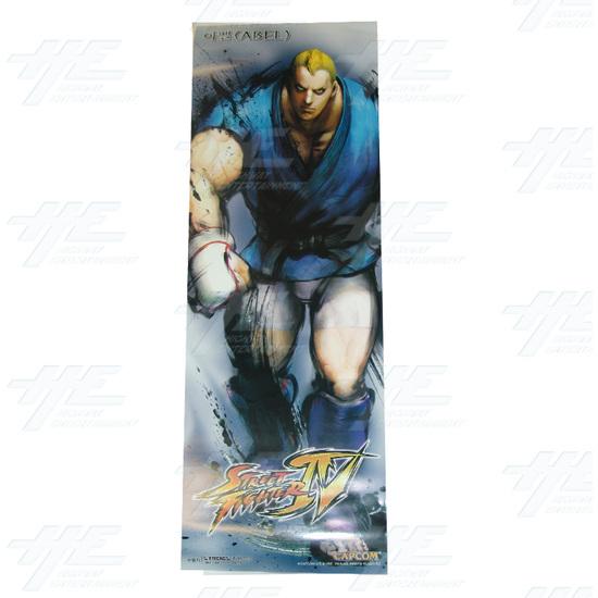 Street Fighter 4 Poster - Set of 10 - Abel