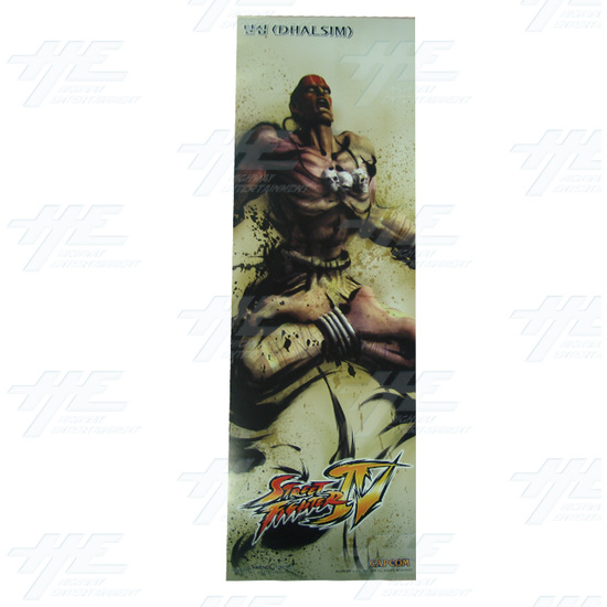 Street Fighter 4 Poster - Set of 10 - Dhalsim