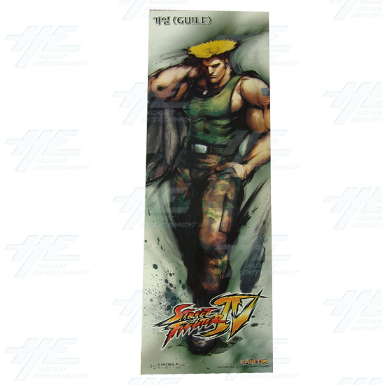 Street Fighter 4 Poster - Set of 10 - Guile