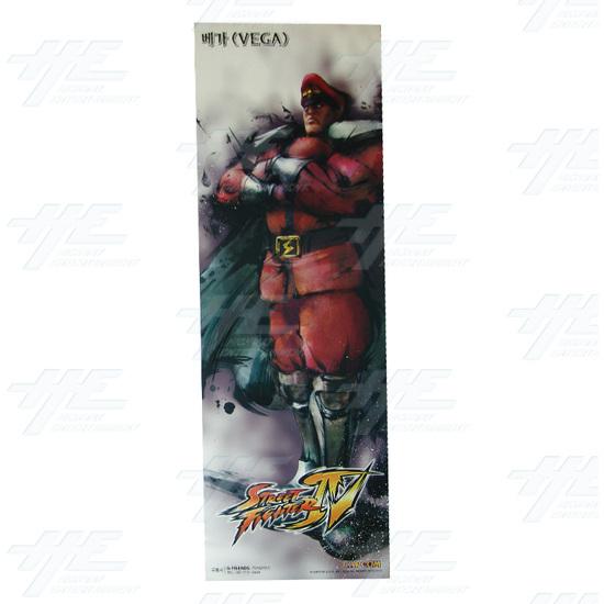 Street Fighter 4 Poster - Set of 10 - Vega