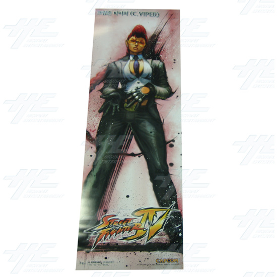 Street Fighter 4 Poster - Set of 10 - Viper