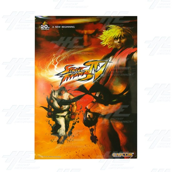 Street Fighter 4 Posters (set of 3) - Ken