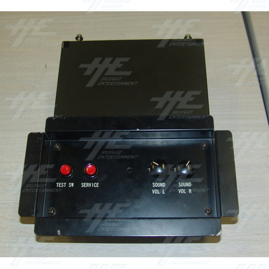 Arcade Test Panel - Front