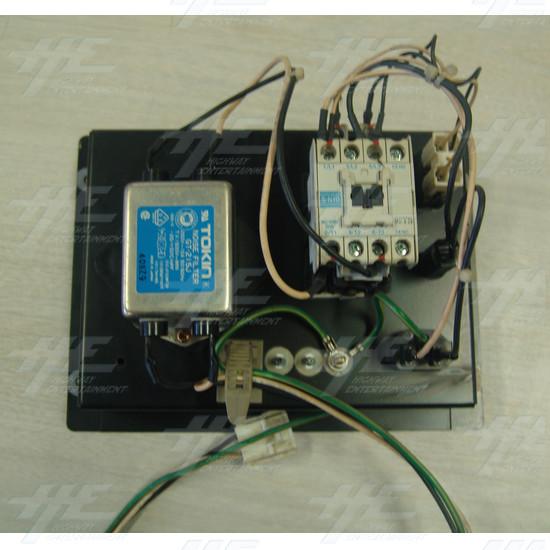 240v Power Board - Back