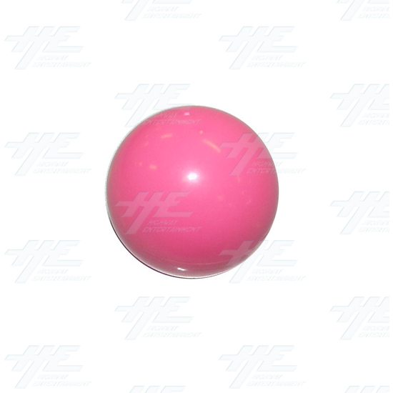 Arcade Joystick Ball Top - Pink - Full View