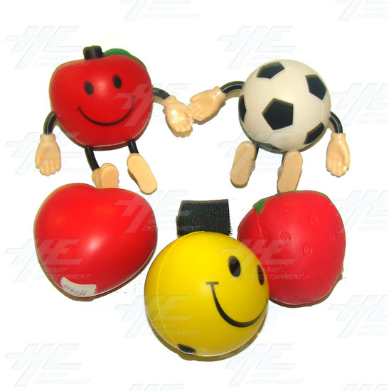 Soft Balls - Various Soft Toys (24pcs) - Assorted Soft Toys