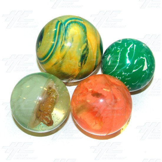 Bouncy Balls - Large Size (18pcs) - Assorted Bouncy Balls