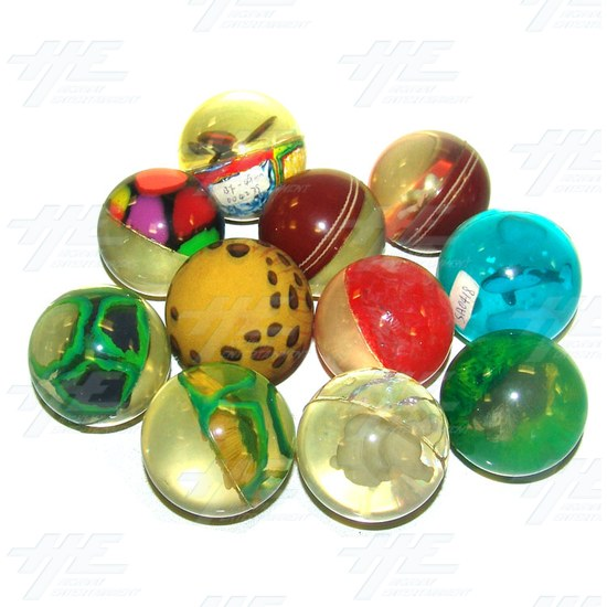 Bouncy Balls - Various Lot (75pcs) - Assorted Bouncy Balls