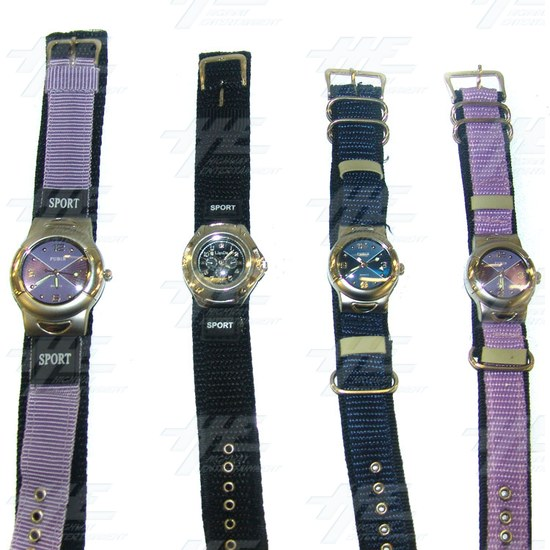Unisex Fabric Sports Watches (11pcs) - Fabric Sports Watches