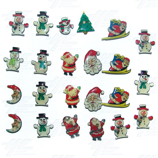 Magnets - Christmas Themed (23pcs) - Sample