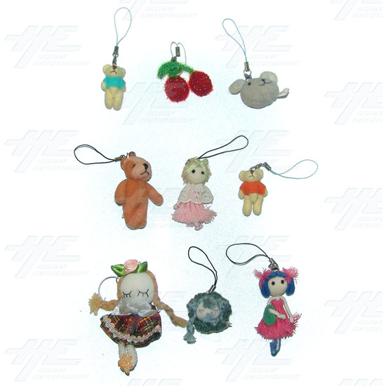 Plush Keyrings - Small Size (80pcs) - Sample 1