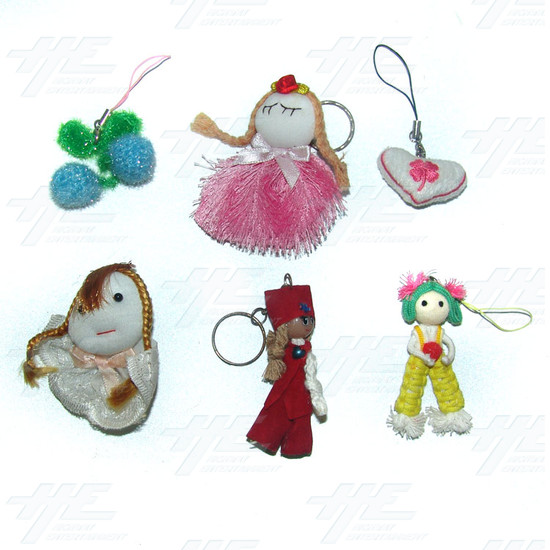 Plush Keyrings - Small Size (80pcs) - Sample 2