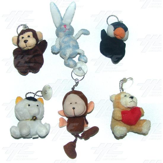 Plush Keyrings and Toys - Medium Size (20pcs) - Sample 1