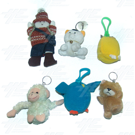 Plush Keyrings and Toys - Medium Size (20pcs) - Sample 2