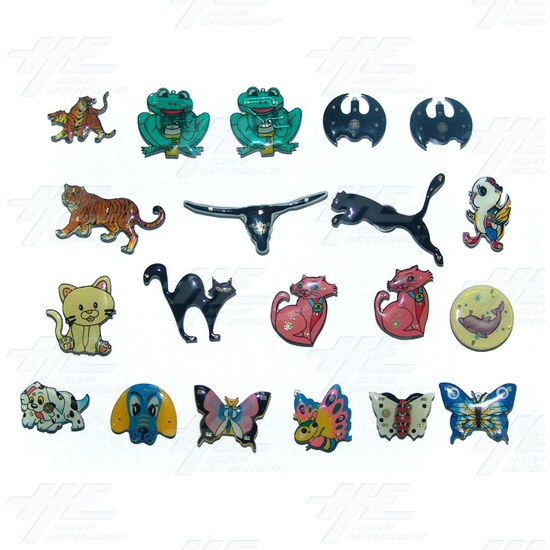Magnets - Cartoon Animals (20pcs) - Sample