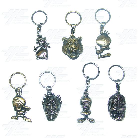 Keyrings - Large Size - Lot 1 (70pcs) - Sample 3