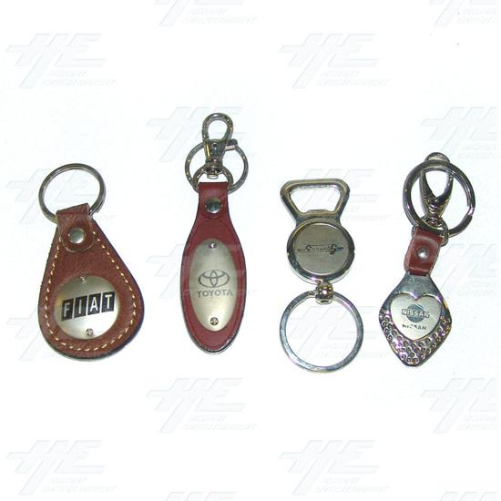Keyrings - Large Size - Lot 1 (70pcs) - Sample 7