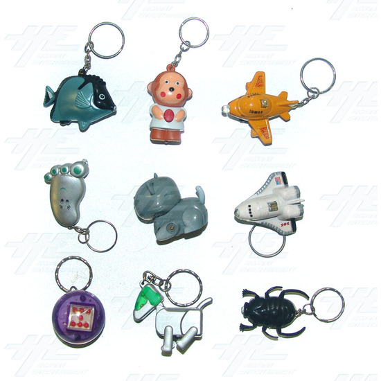 Keyrings - Medium Size - Assorted (130pcs) - Sample 1