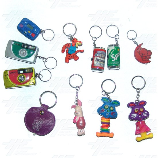 Keyrings - Medium Size - Assorted (130pcs) - Sample 2