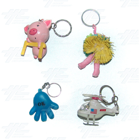 Keyrings - Medium Size - Assorted (75pcs) - Sample 1