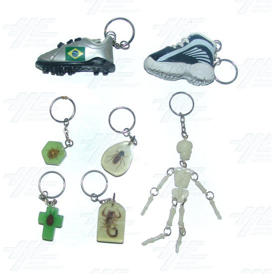 Keyrings - Medium Size - Assorted (75pcs) - Sample 4